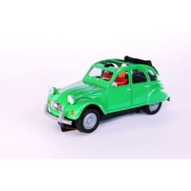 Citroën 2CV Cabrio - Verde